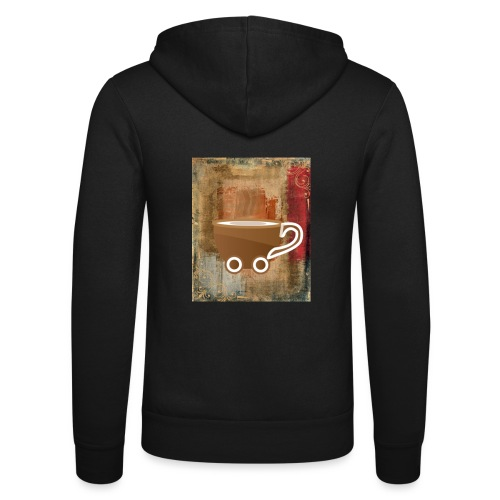 vintage coffee - Unisex Kapuzenjacke von Bella + Canvas