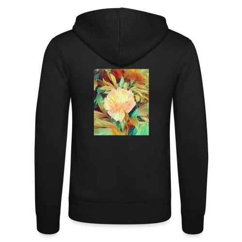 Flower - Unisex Kapuzenjacke von Bella + Canvas