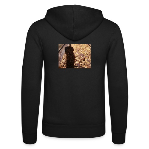 THE GREEN MAN IS MADE OF AUTUMN LEAVES - Unisex Hooded Jacket by Bella + Canvas