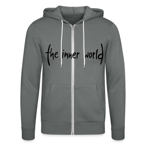 The Inner World Logo schwarz - Unisex Kapuzenjacke von Bella + Canvas