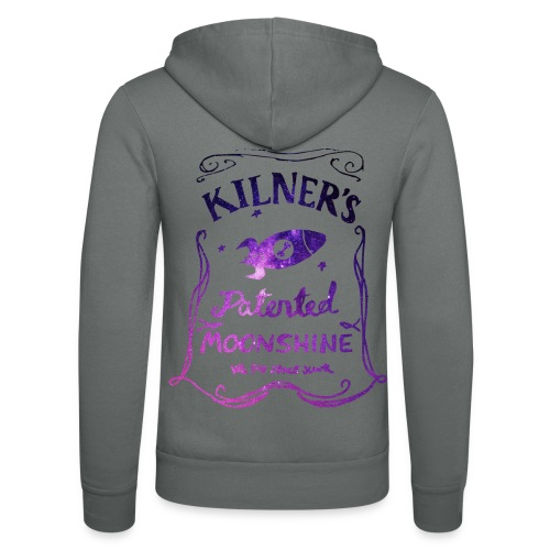 Kilner's Patented Moonshine (Stars Outline) - Unisex Hooded Jacket by Bella + Canvas