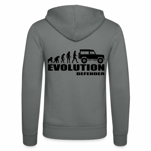 Evolution Defender - Unisex Kapuzenjacke von Bella + Canvas