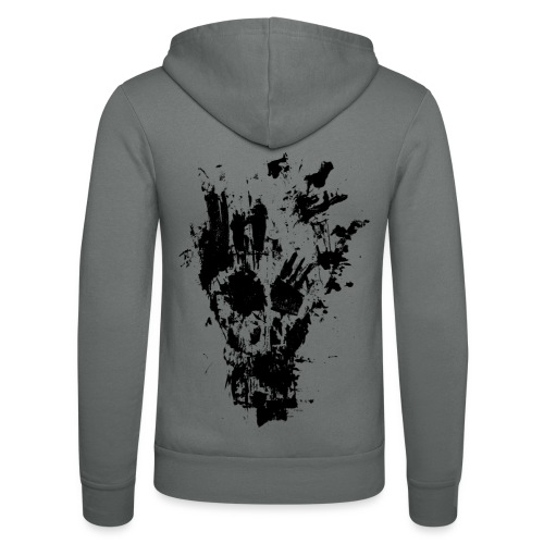 FANCY SKULL - Unisex Hooded Jacket by Bella + Canvas