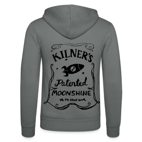 Kilner's Patented Moonshine (Black) - Unisex Hooded Jacket by Bella + Canvas
