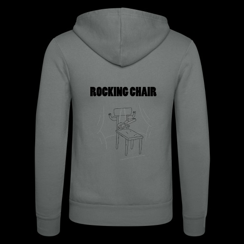 Rocking Chair - Unisex Hooded Jacket by Bella + Canvas