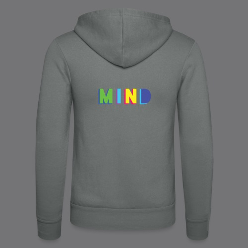 MIND Tee Shirts - Unisex Hooded Jacket by Bella + Canvas