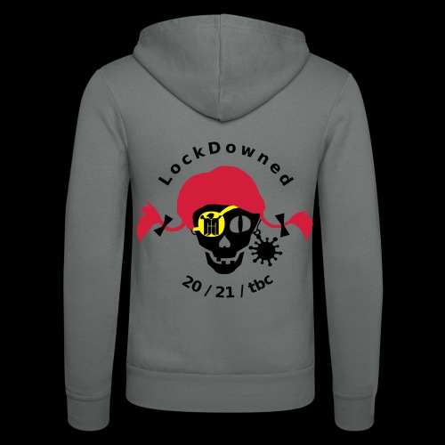 LockDowned - Unisex Kapuzenjacke von Bella + Canvas