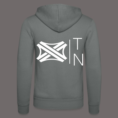 Tregion logo Small - Unisex Hooded Jacket by Bella + Canvas