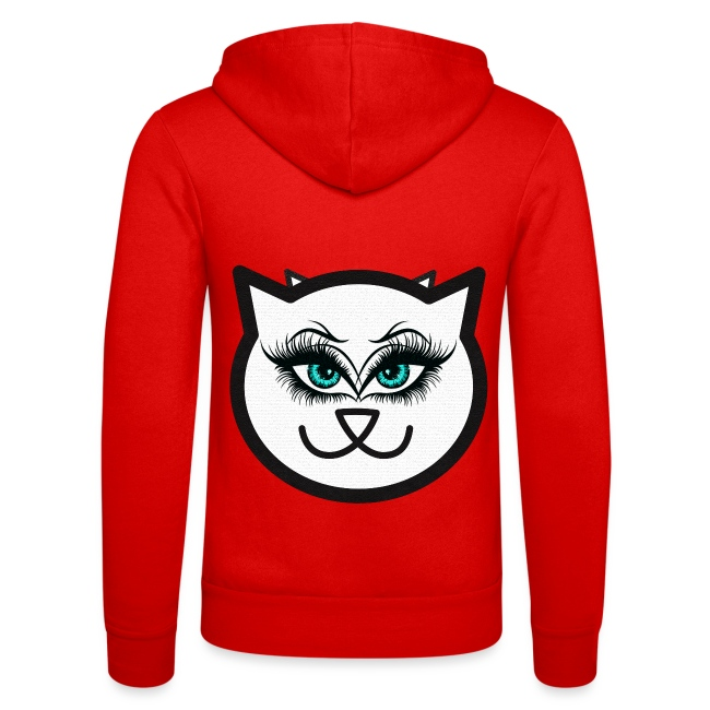 Hipster Cat Girl by T-shirt chic et choc
