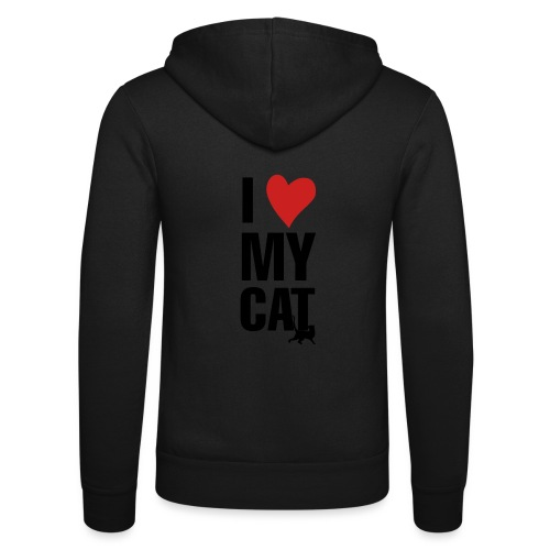I_LOVE_MY_CAT-png - Nuestra chaqueta con capucha de Bella + Canvas