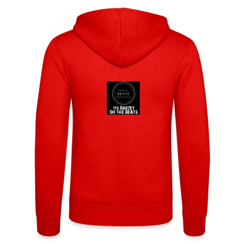 Its Barzey on the beats - Unisex Hooded Jacket by Bella + Canvas