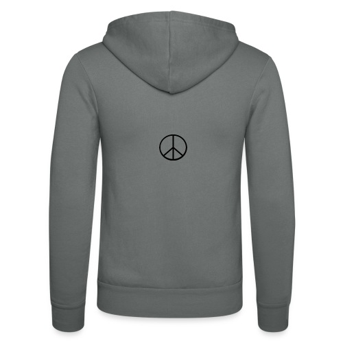 peace - Luvjacka unisex från Bella + Canvas