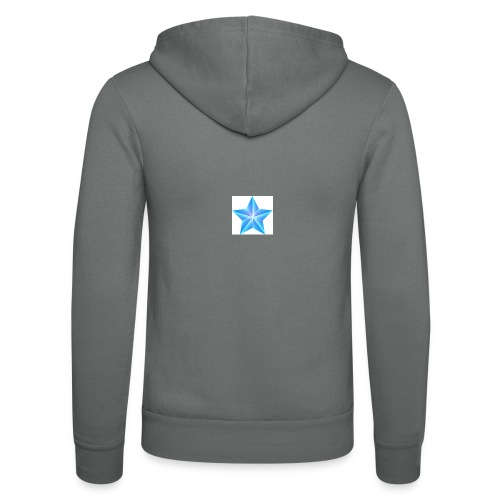 blue themed christmas star 0515 1012 0322 4634 SMU - Unisex Hooded Jacket by Bella + Canvas