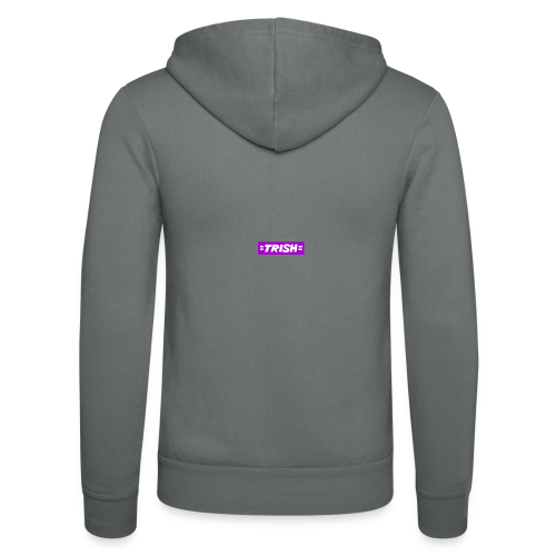 trish logo - Unisex Hooded Jacket by Bella + Canvas