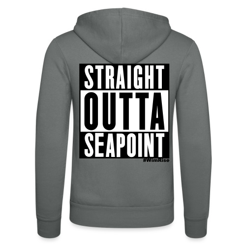 Straight Outta Seapoint - Unisex Hooded Jacket by Bella + Canvas
