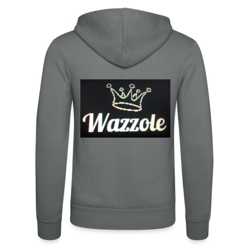 Wazzole crown range - Unisex Hooded Jacket by Bella + Canvas