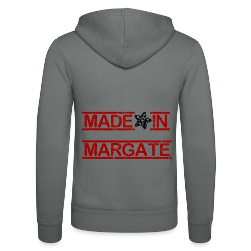 Made in Margate - RED - Unisex Hooded Jacket by Bella + Canvas