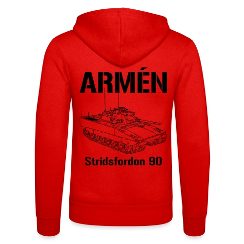 Armén Stridsfordon 9040 - Luvjacka unisex från Bella + Canvas