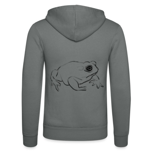 Frog - Unisex Hooded Jacket by Bella + Canvas