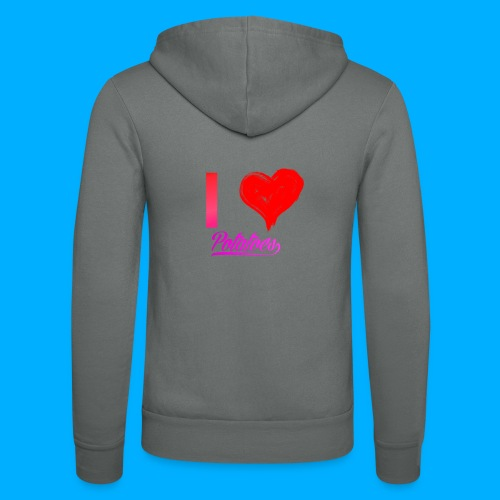 I Heart Potato T-Shirts - Unisex Hooded Jacket by Bella + Canvas