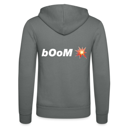 bOoM - Unisex Hooded Jacket by Bella + Canvas