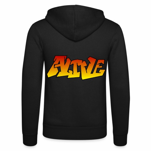 ALIVE CGI - Unisex Hooded Jacket by Bella + Canvas