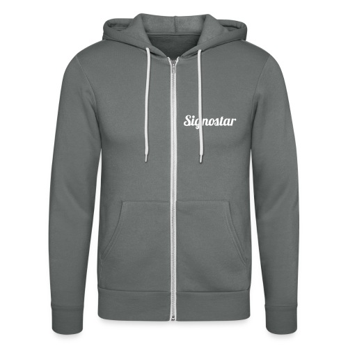 Signostar - Unisex Kapuzenjacke von Bella + Canvas