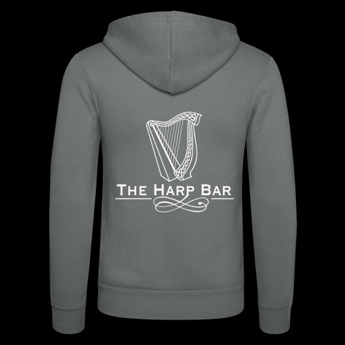 Logo The Harp Bar Paris - Veste à capuche unisexe Bella + Canvas