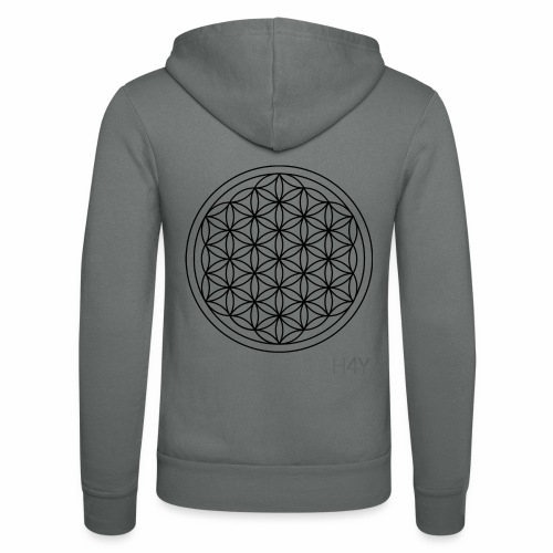 Flower Of Life - This Design Will Heal You - Unisex hættejakke fra Bella + Canvas