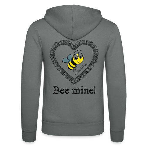 Bees3-1 save the bees | bee mine! - Unisex Hooded Jacket by Bella + Canvas