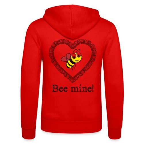 Bees3-2 save the bees | bee mine! - Unisex Hooded Jacket by Bella + Canvas