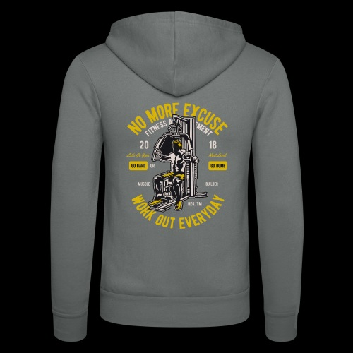 Work Out Everyday Sports - Unisex Kapuzenjacke von Bella + Canvas