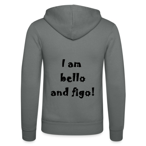 Bello and Figo - Unisex Hooded Jacket by Bella + Canvas