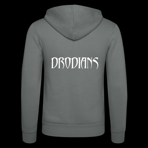 DRODIANS WHITE - Unisex Hooded Jacket by Bella + Canvas