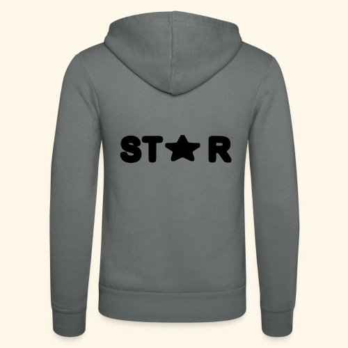 Star of Stars - Unisex Hooded Jacket by Bella + Canvas