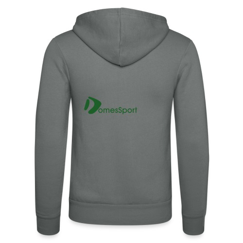 Logo DomesSport Green noBg - Unisex Kapuzenjacke von Bella + Canvas