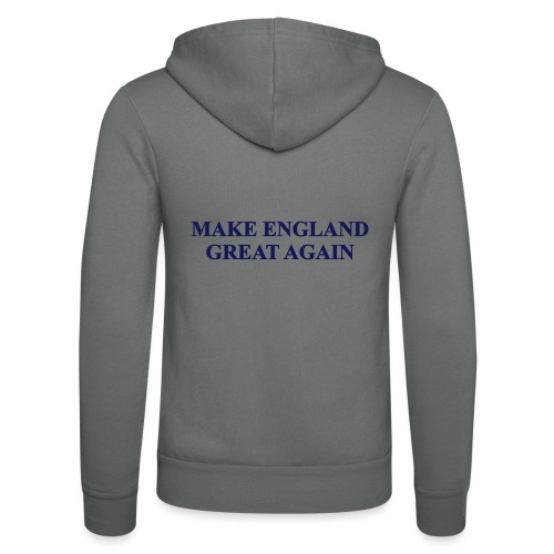 MAKE ENGLAND GREAT AGAIN - Unisex Hooded Jacket by Bella + Canvas