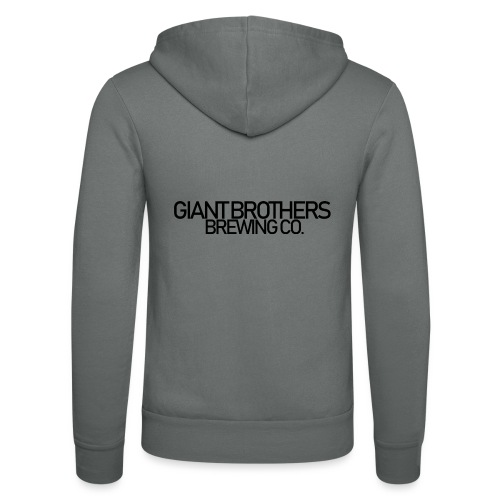 Giant Brothers Brewing co SVART - Luvjacka unisex från Bella + Canvas