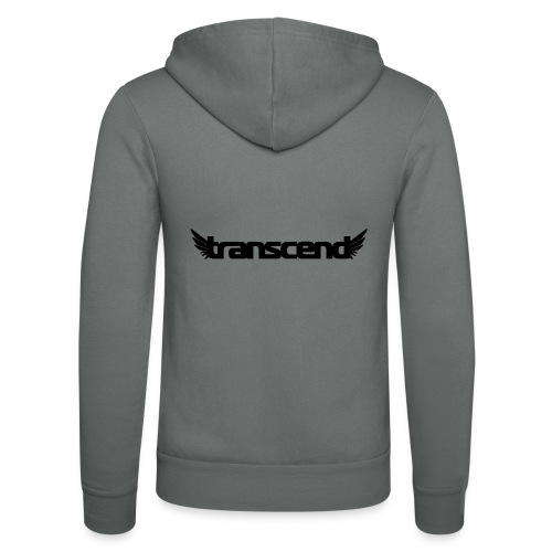 Transcend T-Shirt - Men's - Neon Yellow Print - Unisex Hooded Jacket by Bella + Canvas