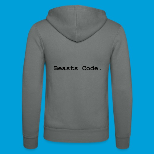 Beasts Code. - Unisex Hooded Jacket by Bella + Canvas