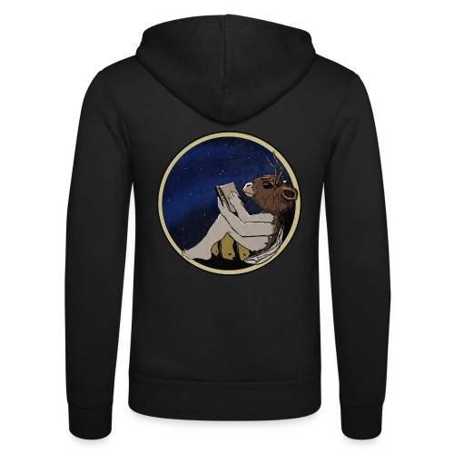 Marilyn's Diary (Round) - Unisex Hooded Jacket by Bella + Canvas