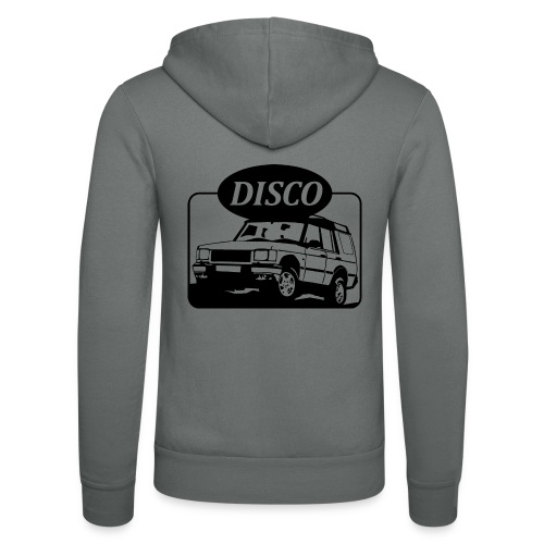 Landie Disco - Autonaut.com - Unisex Hooded Jacket by Bella + Canvas
