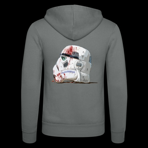 Fallen Stormtrooper - Unisex Hooded Jacket by Bella + Canvas