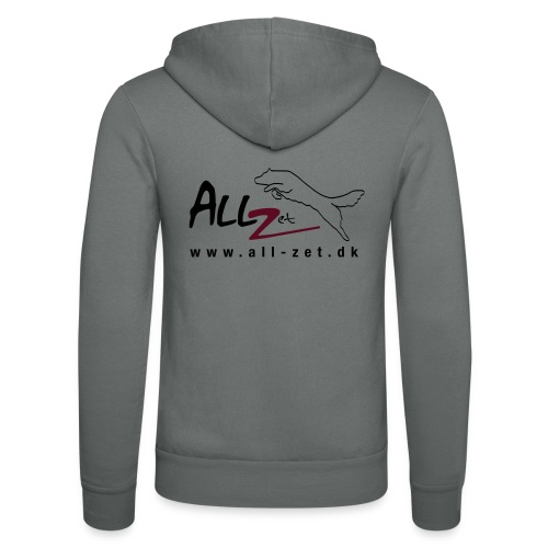 All Zet Logo - Unisex hættejakke fra Bella + Canvas