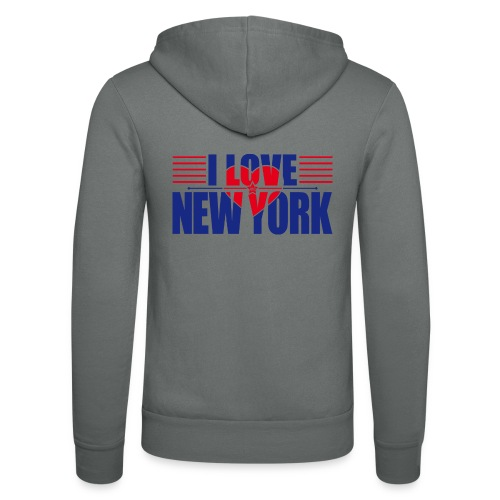 love new york - Veste à capuche unisexe Bella + Canvas