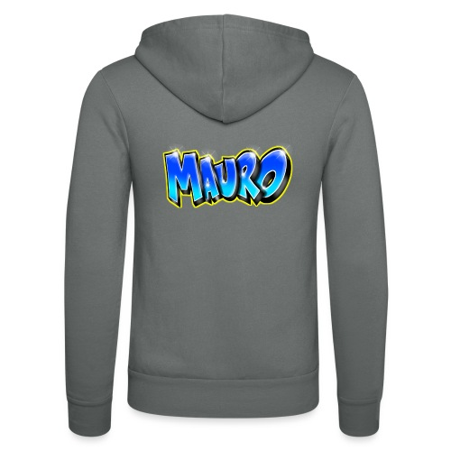 MAURO GRAFFITI NAME - Veste à capuche unisexe Bella + Canvas