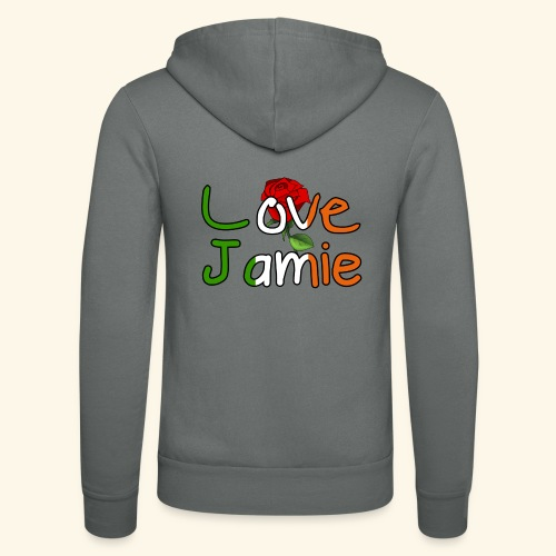 Jlove - Unisex Hooded Jacket by Bella + Canvas