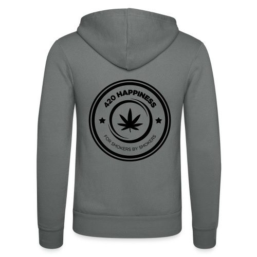 420_Happiness_logo - Unisex hættejakke fra Bella + Canvas