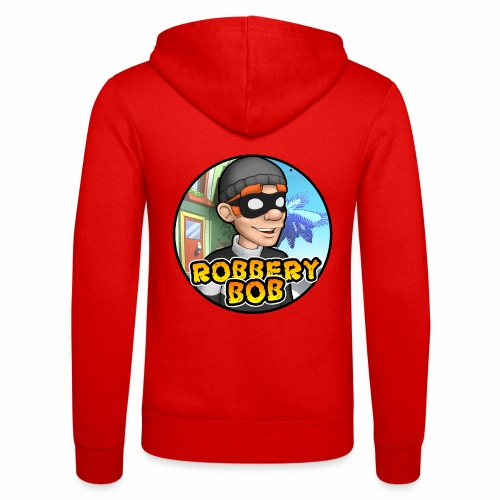 Robbery Bob Button - Unisex Hooded Jacket by Bella + Canvas