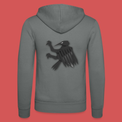 Nörthstat Group ™ Black Alaeagle - Unisex Hooded Jacket by Bella + Canvas